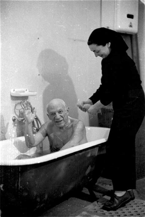 picasso bathtub david douglas duncan
