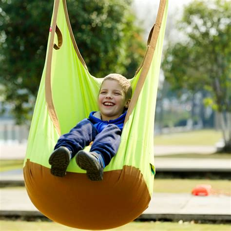 indoor hanging swing chair for kids garden swing for children baby inflatable hammock hanging