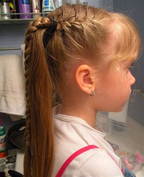 Kid Ponytail Hairstyles braided hairstyles for awesome braided