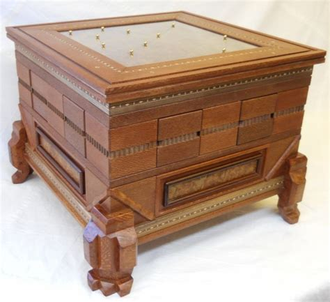 puzzle table with drawers 128 best puzzle boxes images on woodworking