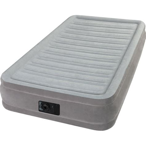 letto gonfiabile carrefour intex elevated dura beam airbed mattress with built