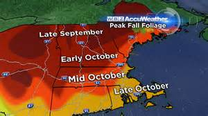 Fall Foliage Map New England by The First Fall Foliage Update Of The Season 171 Cbs Boston