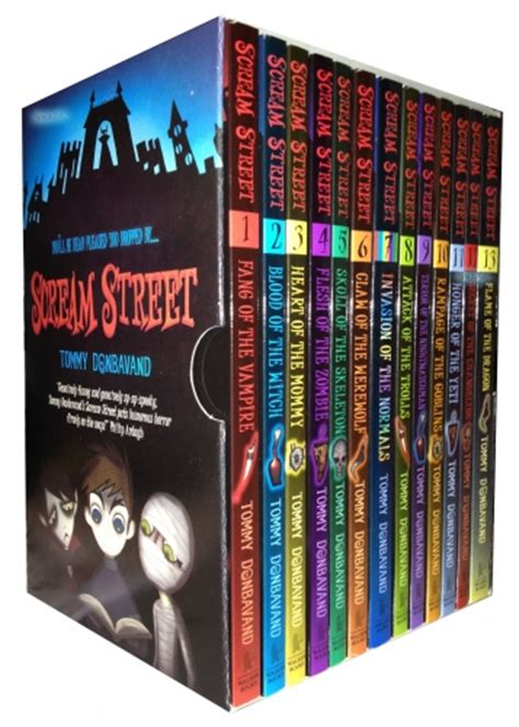 scream books scream collection 13 books box gift set