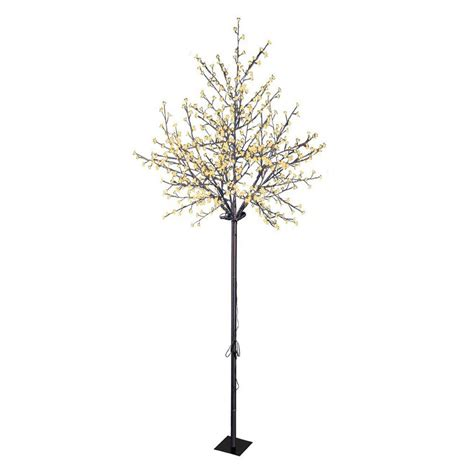 proht 8 5 ft cherry blossom tree with 600 warm white led