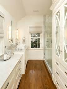 Galley Bathroom Designs Wood Flooring Bath Design Bathroom Ideas