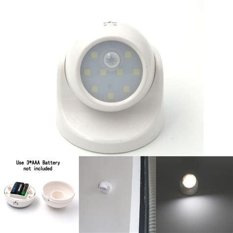 wireless motion sensor light 9 led motion sensor light wireless infrared home indoor