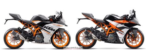 Difference Between Ktm 200 And 390 Intermot 2017 Rc390 Pics Comparison With Existing Model