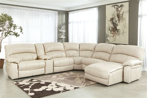 ashley furniture white sectional living room decor with black leather sectional chaise sofa
