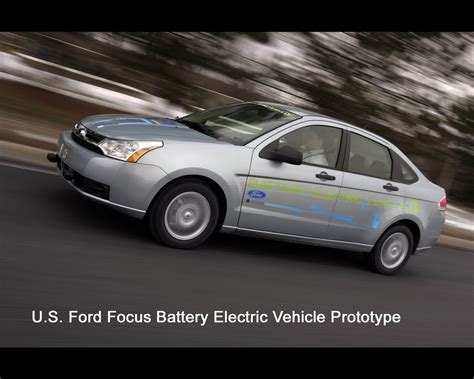 ford electric truck ford battery electric vehicle prototypes 2009