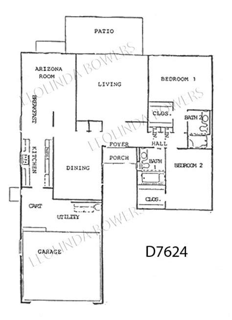 sun city west floor plans sun city west d7624 duplex floor plan