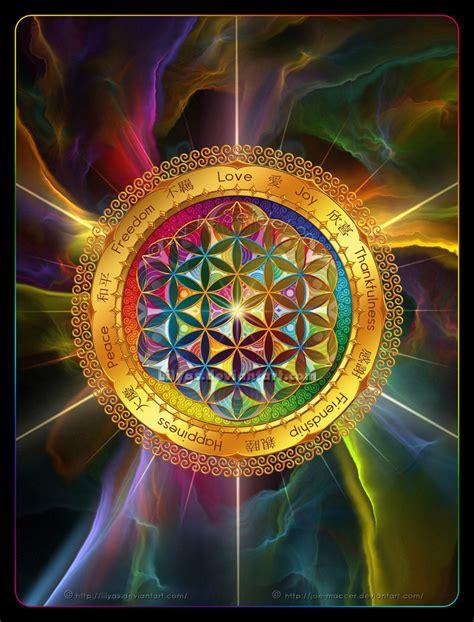 geometria sagrada flower of life 2 by lilyas on