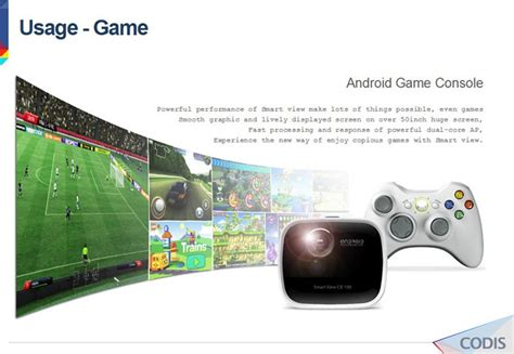 Cb 100 Mini Android Projector Portable Mini Android Smart Projector Icodis Cb 100 With