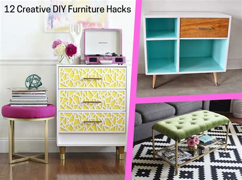 diy furniture hacks 12 creative diy furniture hacks on a budget check it out