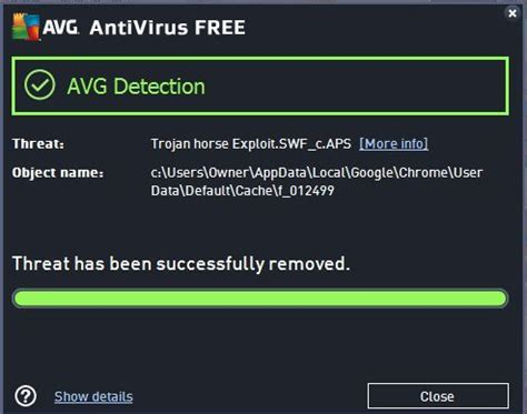 trojan virus remover for android avg update to fix false trojan warning