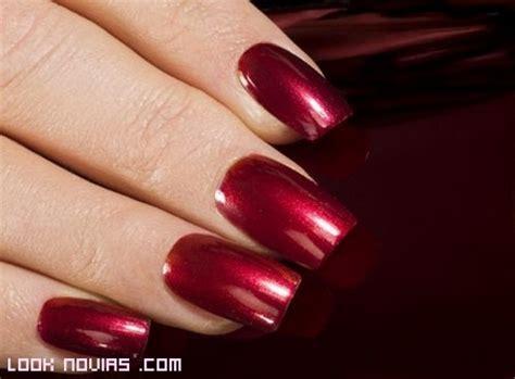 imagenes de uñas pintadas en color rojo u 241 as de color para novias
