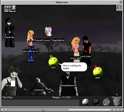 chat room with avatars transliteracies 187 archive 187 desktop theater