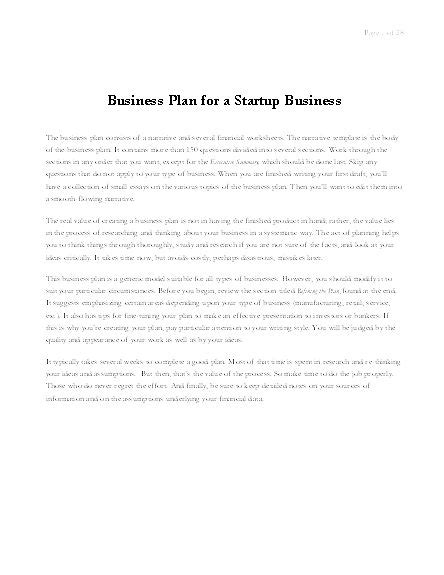 business plan template office business plan for startup business templates microsoft