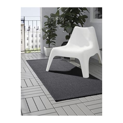 teppich 80x200 morum rug flatwoven in outdoor grey 80x200 cm ikea