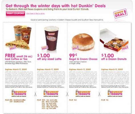 Dunkin Donuts Dorney Park Printable Coupon Documento Sin
