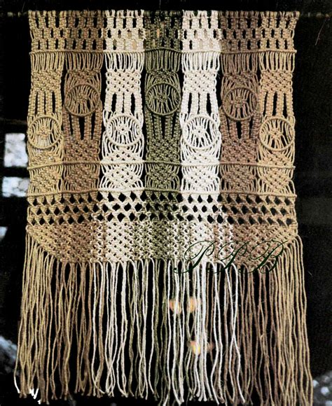 Macrame Pdf Free - macrame wall hanging macrame wall home decor