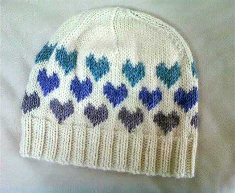 heart hat pattern luluknits i heart knitting hat