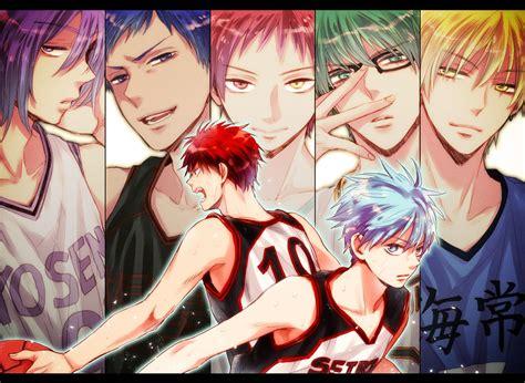 Kaos Anime Kuroko No Basket shonen anime aochan005