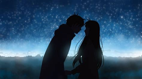 wallpaper untuk couple anime love wallpapers wallpaper cave