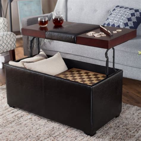 Upholstered Storage Ottoman Coffee Table Upholstered Storage Ottoman Coffee Table Coffee Addicts