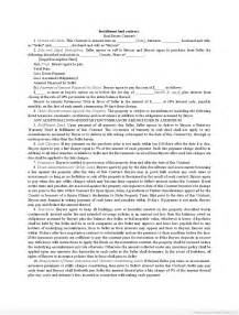 contract for sale of land template free real estate installment sale contract form sle