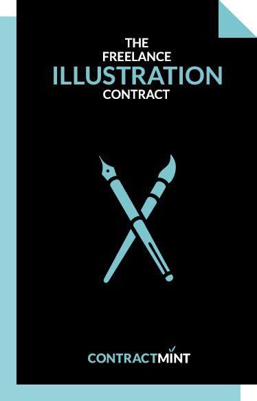 freelance illustrator contract template sample included