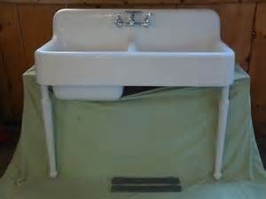Vintage Cast Iron Kitchen Sink Antique Cast Iron Farm Farmhouse Kitchen Sink Legs Vintage Kohler Basin Legs And Basins
