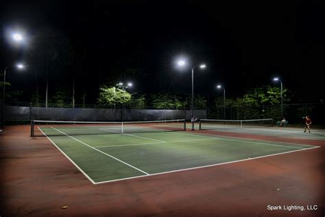 led sports lighting systems gyms arenas court