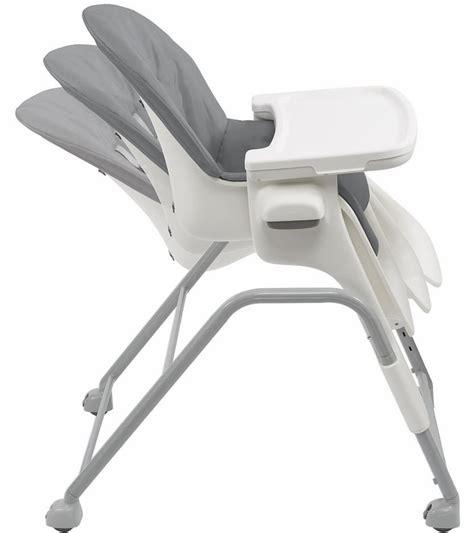 oxo seedling high chair oxo tot seedling high chair graphite gray