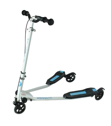 wheel swing kidzmotion wriggler 3 wheel swing scooter speeder drifter