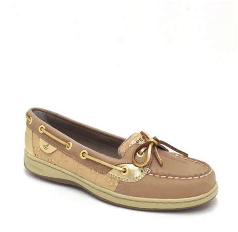 womens sperry top sider angelfish eyelet boat shoe sperry topsider angelfish gold eyelet women s boat shoe