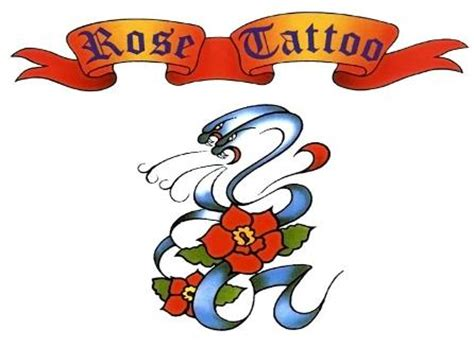 rose tattoo logo rock cinema dvd collection