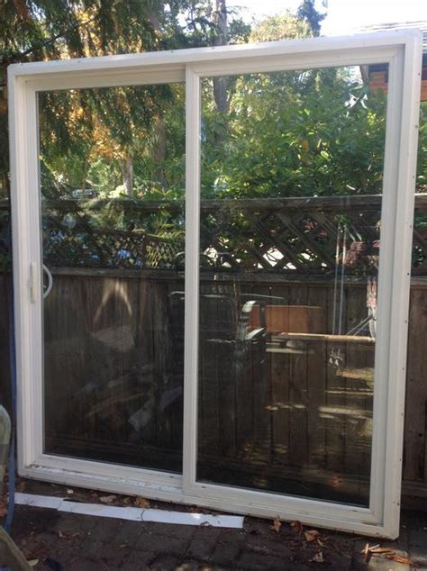 Used Sliding Patio Doors Vinyl Sliding Patio Door Central Saanich Mobile