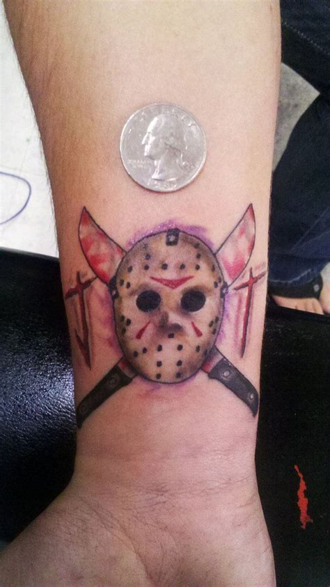 jason mask tattoo jason voorhees tattoos jason voorhees