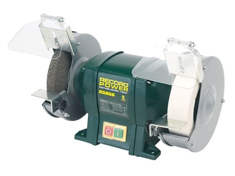 record power bench grinder record power rptrpbg6 rpbg6 bench grinder 6in