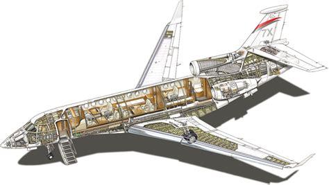 Boeing 747 Floor Plan by Falcon 7x