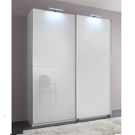 White Gloss Wardrobes With Sliding Doors by Add On D White Gloss Wardrobe With 2 Doors 1 Mirrors 20493 F