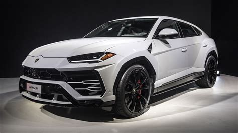 lamborghini urus white rich soccer moms rejoice lamborghini finally unveils the