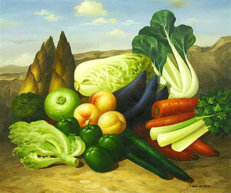 vegetables painting the gallery for gt vegetable painting