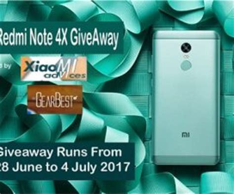 4k A Day Giveaway - redmi note 4x giveaway winner announcement xiaomi advices
