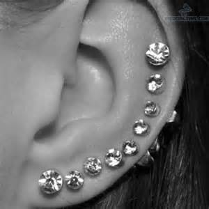 ear piercings with studs jpg 612 215 612 piercings