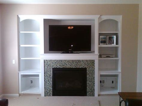 bookshelves around tv small white built in bookshelves combined flat screen tv