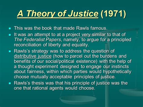 A Theory Of Justice justice as fairness justice as holdings rawls nozick ppt