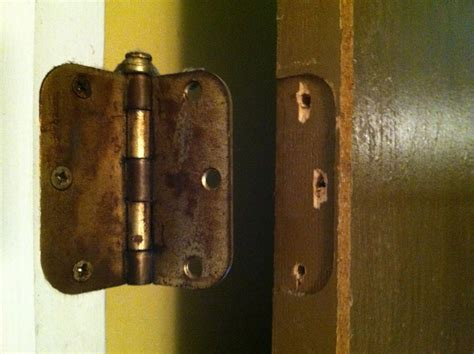 How To Fix Door Hinges Stripped how to repair stripped holes for a door hinge 4