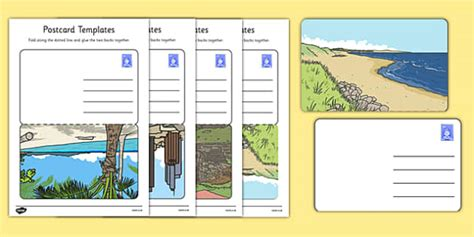 post card template twinkl post office postcard templates postcard template post card