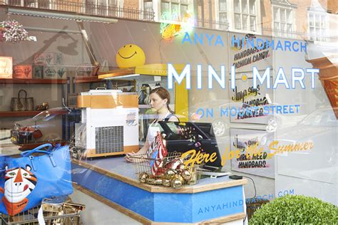 buro minimarket anya hindmarch launches mini mart in buro 24 7
